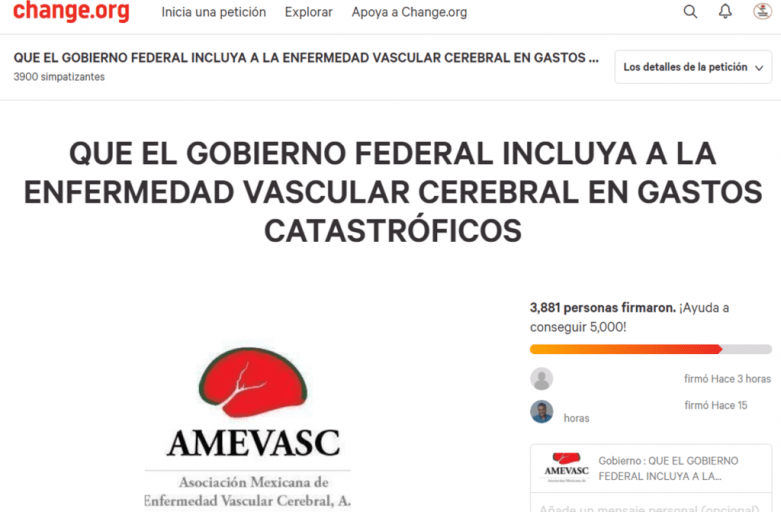 Apoya a AMEVASC con el Gobierno Federal